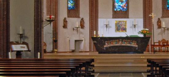 De huidige St. Corneliuskerk in Borgharen dateert uit 1887 (© www.parochieborgharen.nl)
