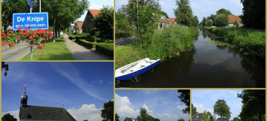 De Knipe, collage van dorpsgezichten (© Jan Dijkstra, Houten)