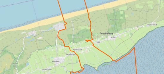 Het dorp  Formerum ligt midden op Terschelling, grenzend aan het dorp Lies in het NO en het dorp Landerum in het ZW. In het N ligt het mini-badpaatsje Formerum aan Zee. Formeel valt onder het dorpsgebied ook nog een strook Waddenzee, tot aan Oosterbierum.