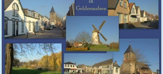 Geldermalsen, collage van dorpsgezichten (© Jan Dijkstra, Houten)