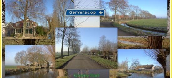 Gerverscop, collage van buurtschapsgezichten (© Jan Dijkstra, Houten)