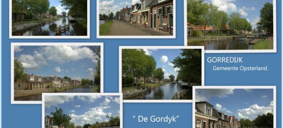 Gorredijk, collage van dorpsgezichten (© Jan Dijkstra, Houten)