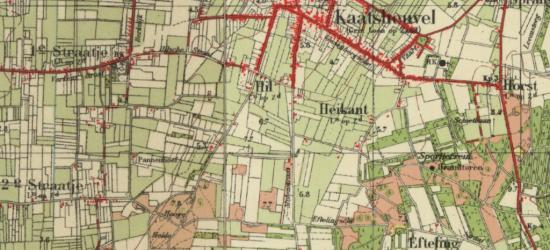 Tot de jaren vijftig is Kaatsheuvel nog een klein dorp met een groot buitengebied. Door de groei van het dorp is het tegenwoordig net andersom. Een van de buurtschappen van het dorp was de Efteling, sinds 1952 vervangen door het gelijknamige attractiepark