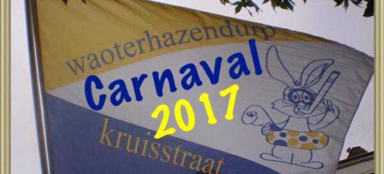 Als Brabants dorp doen ze natuurlijk ook in Kruisstraat aan carnaval. Tijdens het carnaval heet het dorp Waoterhazendurp.