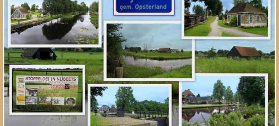 Nij Beets, collage van dorpsgezichten (© Jan Dijkstra, Houten)