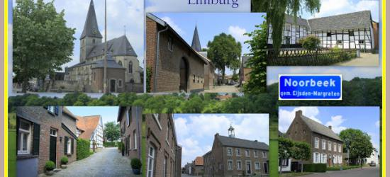 Noorbeek, collage van dorpsgezichten (© Jan Dijkstra, Houten)