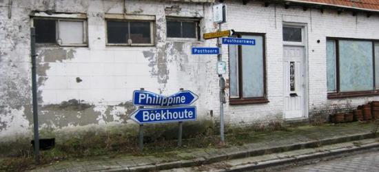 Beetje jammer dat een buurtschap met zo'n mooie naam Posthoorn geen plaatsnaamborden heeft en het alleen met straatnaambordjes moet doen...