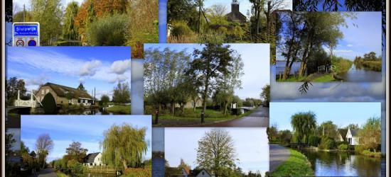 Sluipwijk, collage van dorpsgezichten (© Jan Dijkstra, Houten)