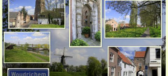 Woudrichem, collage van stadsgezichten (© Jan Dijkstra, Houten)