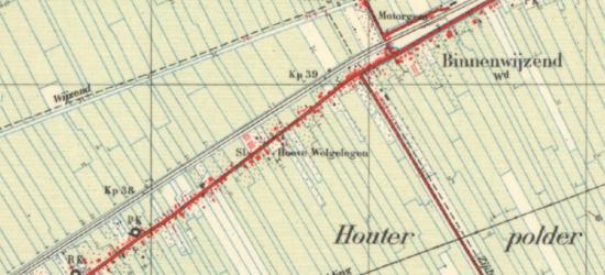 Tot in de jaren vijftig van de 20e eeuw staat de buurtschap Zittend nog als straatnaam Zijdwind in de atlassen. Dit is ook historisch de juiste naam. Zie verder bij kopje Naam.