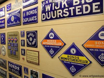 Er zijn vele soorten cultureel erfgoed. Een daarvan is motorvoertuiggerelateerd erfgoed, waar een gelijknamige werkgroep zich mee bezighoudt. Zie verder www.erfgoedopweg.nl.