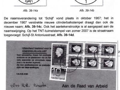 Van sommige plaatsnamen is op enig moment het voorvoegsel of voorzetsel 'geamputeerd'. Zo heette het Brabantse dorp Schijf vóór oktober 1967 nog De Schijf.