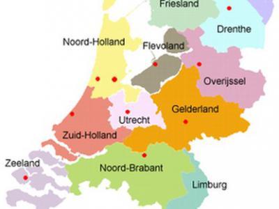 Pas sinds 1986, het jaar van oprichting van de provincie Flevoland, kennen we de huidige indeling van ons land in 12 provincies