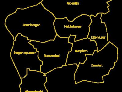 Niet alleen gemeenten, ook archieven fuseren om de krachten te bundelen. Zo fuseren per 1-7-2016 de archieven in Bergen op Zoom, Roosendaal en Oudenbosch tot het West-Brabants Archief. Handig is daarom dat diverse sites overzichten van archieven bijhouden