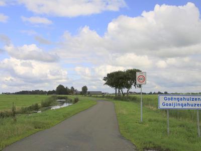 Goëngahuizen is een buurtschap in de provincie Fryslân, gemeente Smallingerland. (© Jan Dijkstra, Houten)