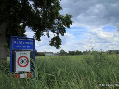 Achterveld is een dorp in grotendeels de provincie Utrecht, streek Eemland, gemeente Leusden (t/m 31-5-1969 gemeente Stoutenburg) en deels de provincie Gelderland, streek Veluwe, gemeente Barneveld.