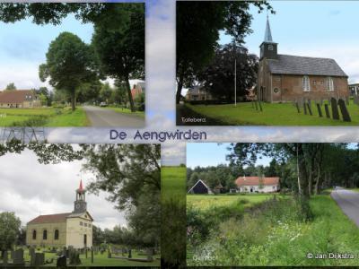 De vier dorpen worden nog steeds de Aengwirden genoemd.