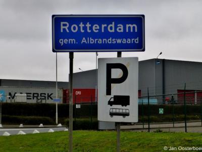 Rotterdam ligt niet alleen in de gem. Rotterdam, maar ook in de gem. Albrandswaard. Voor nadere informatie zie het kopje Status.