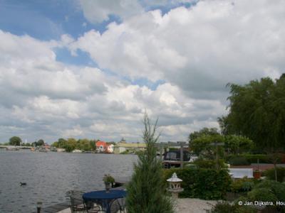 Amstelhoek, met zicht op de Amstel