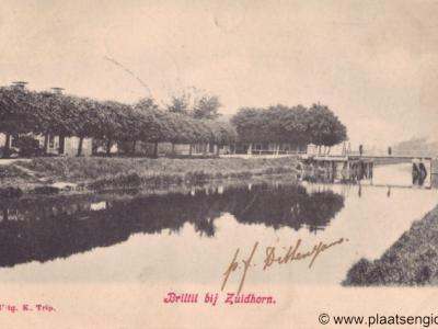Briltil, dorpsgezicht, 1904