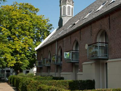 Nieuwdorp, kerk verbouwd tot appartementencomplex