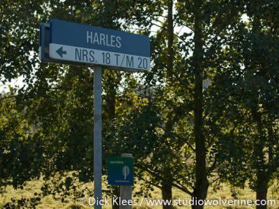 Harles, straatnaam en naam buurtschap