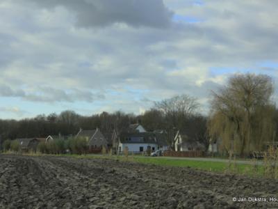 Vlak voor Beusichem ligt buurtschap De Heuvel