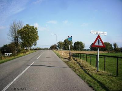 De Schifpot (buurtschap deels onder Feerwerd, deels onder Garnwerd)