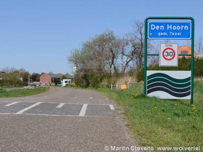 Den Hoorn is een dorp in de provincie Noord-Holland, in de regio's Kop van Noord-Holland en Waddengebied, op het eiland en in de gemeente Texel.