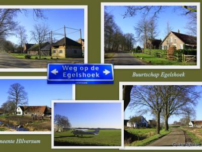 Collage van de buurtschap Egelshoek