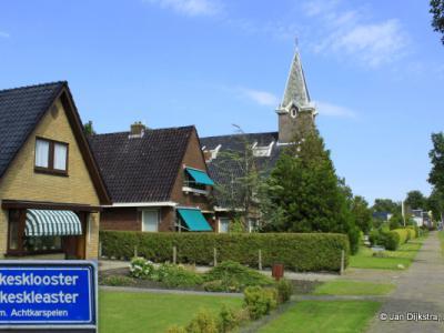 Gerkesklooster-Stroobos is een tweelingdorp in de provincie Fryslân, gemeente Achtkarspelen. Formeel, bijv. voor het postcodeboek en de plaatsnaamborden, zijn het nog wel twee aparte dorpen.