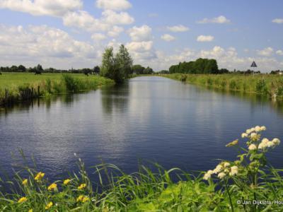 Groene Hart, buurtschap Gieltjesdorp bij Breukelen.