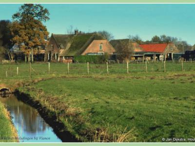 Boerderij van Bassa in Helsdingen bij Vianen.