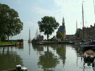 Stads- en havengezicht Hoorn