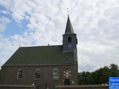 De Hervormde Hofkerk in Hurdegaryp