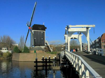 Molen De Put in Leiden