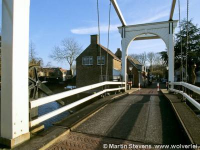 Buurtschap Oud Over, gezien vanaf het dorp Loenen
