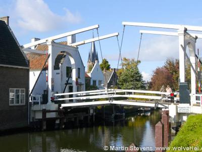 Breukelen, de Vechtbrug verbond de gerechten, later gemeenten Breukelen-Nijenrode en Breukelen-Sint Pieters