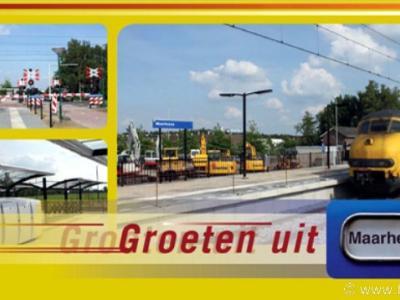 Maarheeze, sinds juni 2010 heeft dit dorp een NS-station