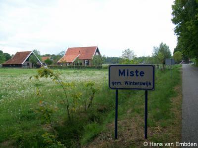 Miste is een buurtschap in de provincie Gelderland, in de streek Achterhoek, gemeente Winterswijk.