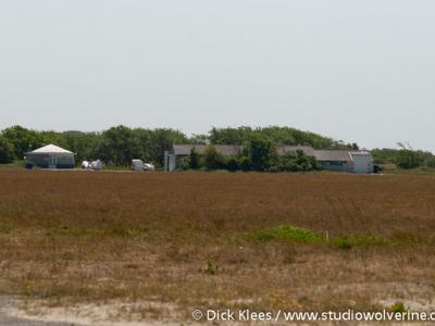 Nieuw Haamstede, natuurgebied en zweefvliegveld De Kop van Schouwen