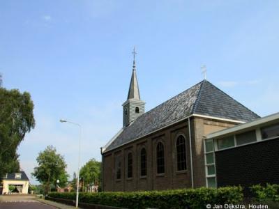 De Hervormde kerk in Oudehaske