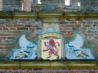 Burgh-Haamstede, Het familiewapen op slot Haamstede