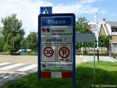 Rhoon was t/m 1984 een zelfstandige gemeente en valt sinds 1985 onder de in dat jaar opgerichte gemeente Albrandswaard