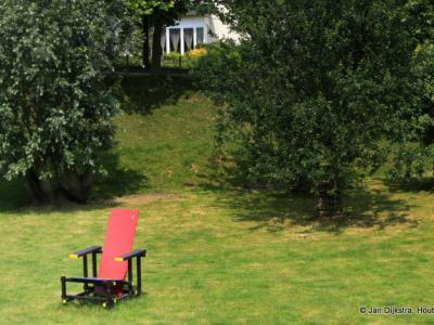 Aan de Rietveldstoel kunnen we zien dat we in de buurtschap Rietveld zijn