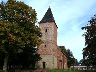 De kerk van Siddeburen.