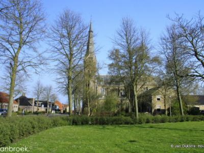 Spanbroek, dorpsgezicht, 2012