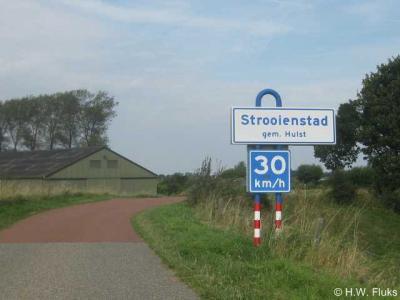 Strooienstad is een buurtschap in de gemeente Hulst. T/m 2002 viel het onder de gemeente Hontenisse.