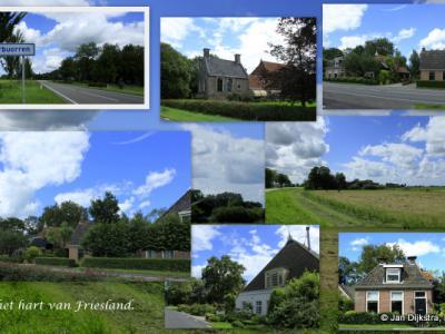 Tussen Raerd en Reduzum ligt aan de Snitserdyk de buurtschap Tsienzerbuorren.