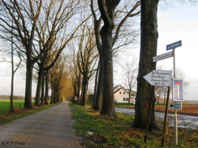 Vossenberg, 'plaatsnaambord'